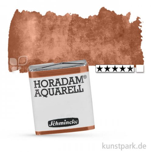 Schmincke HORADAM Aquarellfarben 1/2 Napf   671 Lasur Umbra