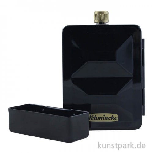 Schmincke HORADAM Aquarellkasten mit 8 halben Näpfchen + Tank