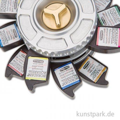 Schmincke HORADAM J.H. Watercolour Wheel mit 12 x halben Näpfchen