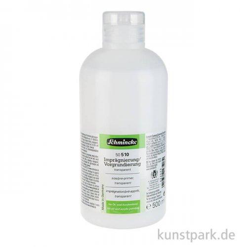 Schmincke Imprägnierung / Vorgrundierung 500 ml
