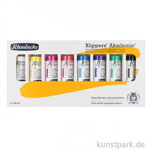 Schmincke Küppers Gouache Set 8 x 60 ml