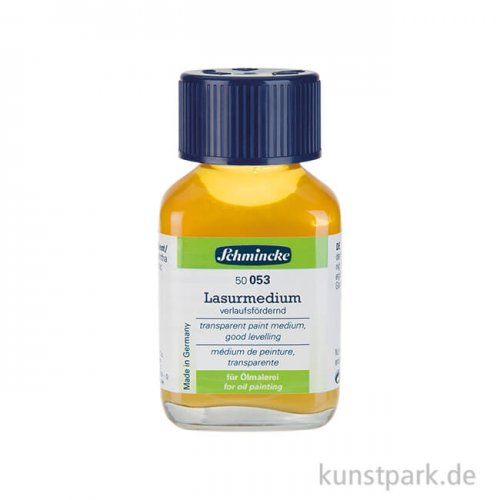 Schmincke Lasurmedium, Glanz + Verlauf 60 ml