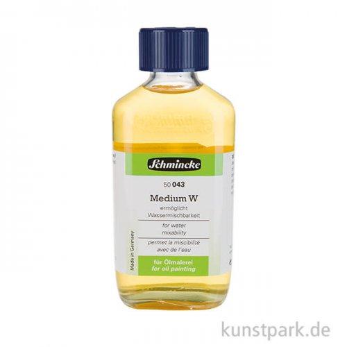 Schmincke Medium W - Wassermischbarkeit für Ölfarben