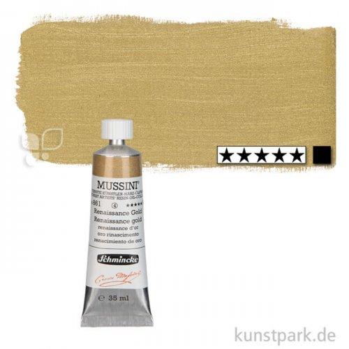 Schmincke MUSSINI Gold 35 ml Tube | 861 Renaissance Gold