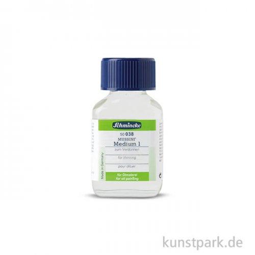 Schmincke MUSSINI Medium 1, zum Verdünnen 60 ml