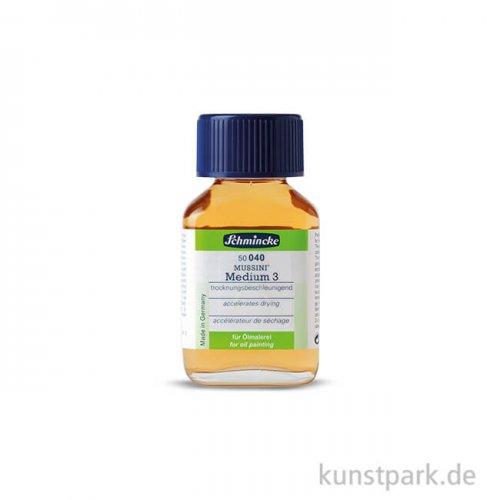 Schmincke MUSSINI Medium 3, trocknungsbeschleunigend 60 ml
