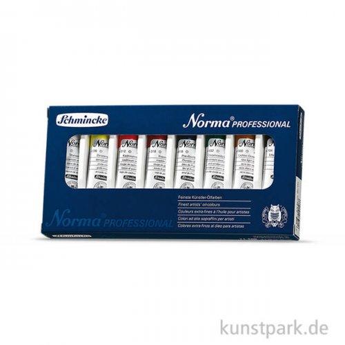 Schmincke NORMA - Einführungsset 8 x 20 ml im Karton