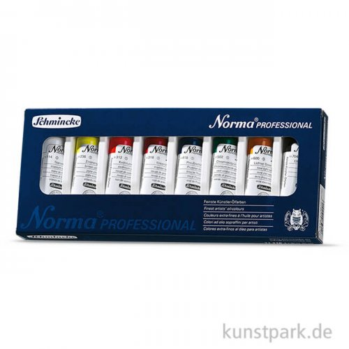 Schmincke NORMA Ölfarbe Grundsortiment 8 x 35 ml