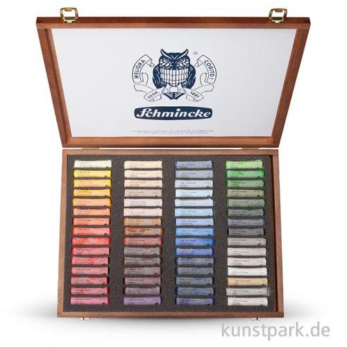 Schmincke PASTELL - Holzkasten TOP 60 Pastellstifte