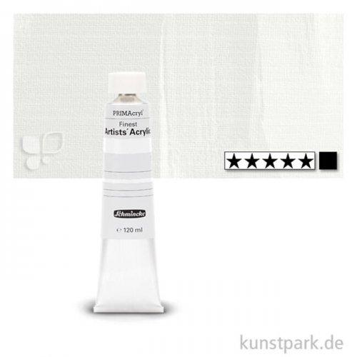 Schmincke PRIMAcryl Acrylfarben 120 ml   101 Titanweiss