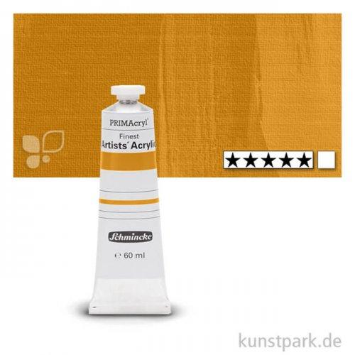 Schmincke PRIMAcryl Acrylfarben 60 ml   674 Lasur-Goldgelb
