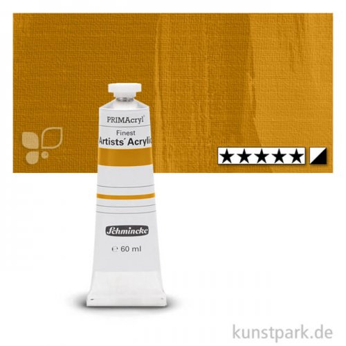 Schmincke PRIMAcryl Acrylfarben 60 ml | 675 Lichter Ocker