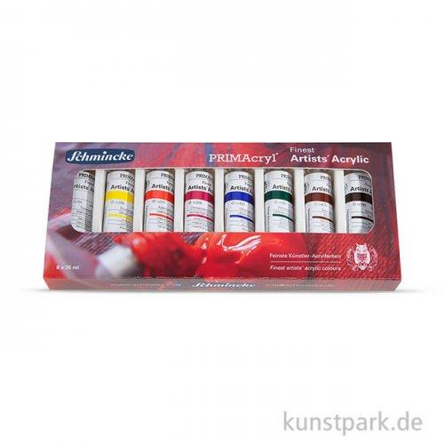Schmincke PRIMAcryl - 8 Tuben 35 ml im Kartonset