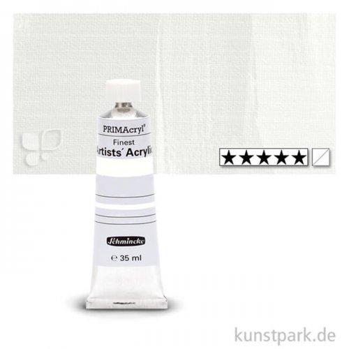 Schmincke PRIMAcryl Acrylfarben 35 ml   100 Zinkweiss