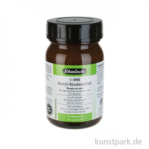Schmincke Ready-to-use Acryl-Bindemittel, 200 ml Glas