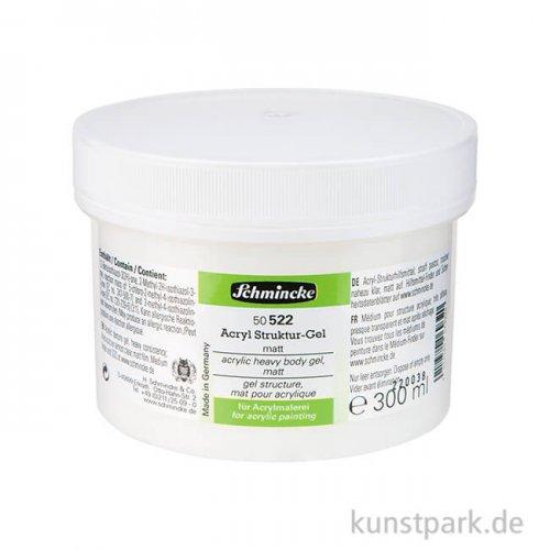Schmincke Struktur-Gel matt 300 ml