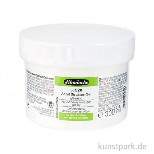 Schmincke Struktur-Gel glänzend 300 ml