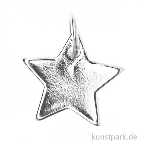 Schmuck-Anhänger - Stern, Silber
