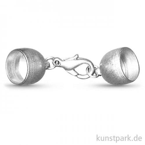 Schmuckverschluss - Silber Matt