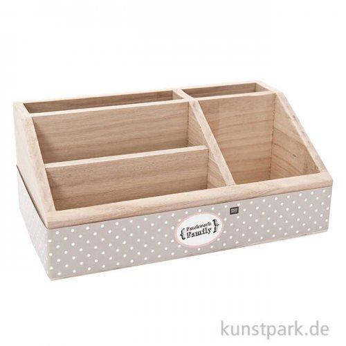 Schreibtischbutler aus Holz