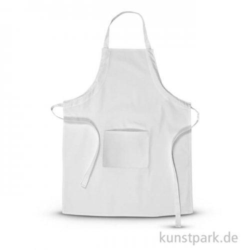Schürze mit Tasche aus Baumwolle, Größe 65x84 cm