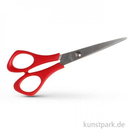 Schulschere spitz für Linkshänder, Länge 14 cm