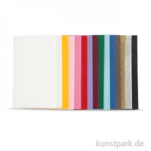Seidenpapier-Sortiment, 50x70 cm, 30 Blatt sortiert