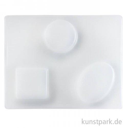 Seifenform - rund, oval und eckige Form
