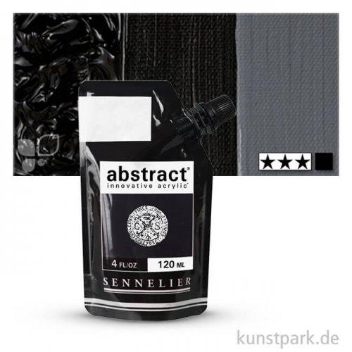 Sennelier ABSTRACT Acrylfarbe 120 ml | Marsschwarz