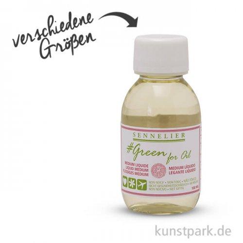 Sennelier Green for Oil flüssiges Malmittel