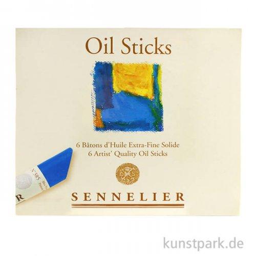 Sennelier Ölstick feinste Ölfarben - 6er Sortiment, 38 ml