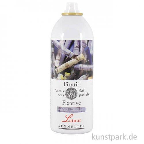 Sennelier Pastell Fixativ Latour für Softpastelle