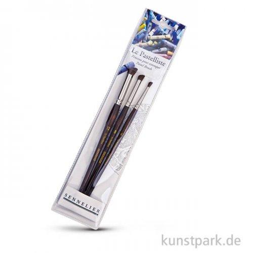 Sennelier Pastellpinsel-Set mit 3 verschiedenen Größen