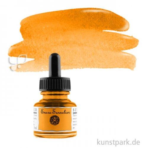 Sennelier Schellacktusche 30 ml   641 Orange