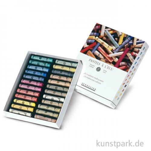 Sennelier Softpastell ECU - Iridescent-Set mit 24 Stiften