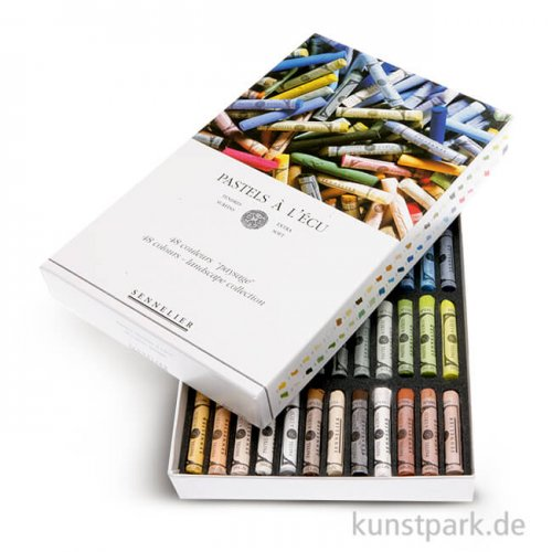 Sennelier Softpastell ECU - Landschaft-Set mit 48 Stiften