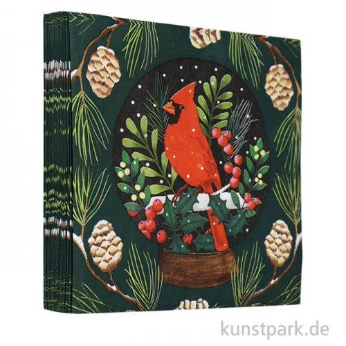Servietten Cardinal - 33 x 33 cm