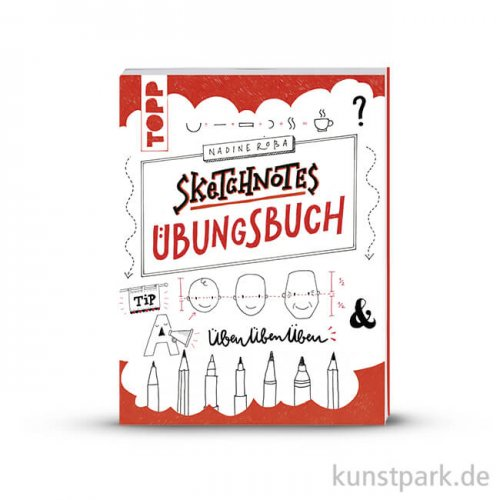 Sketchnotes - Übungsbuch, Topp Verlag
