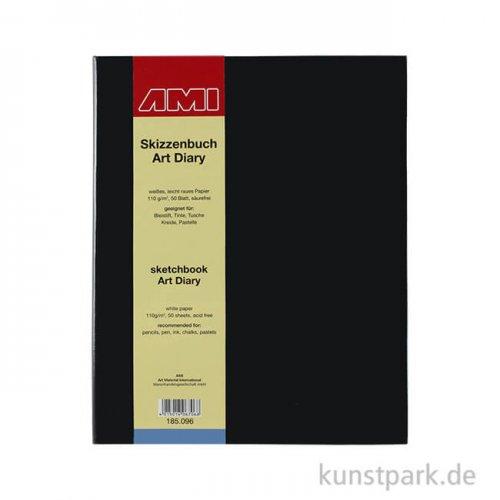 Skizzenbuch ART DIARY, 50 Blatt, 110 g DIN A4