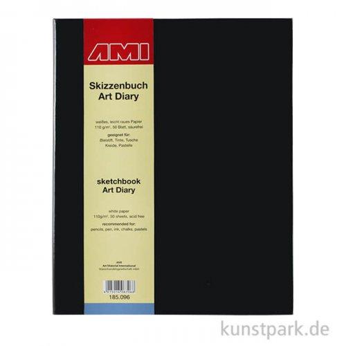 Skizzenbuch ART DIARY, 50 Blatt, 110 g