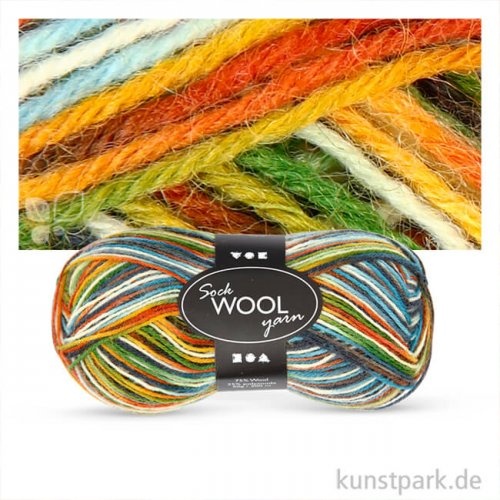 Sockenwolle - 50 g 200 m | Multi Color Harmony