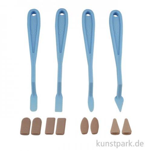 Sofft - Spachtel und Messer Set sortiert, 8 teilig