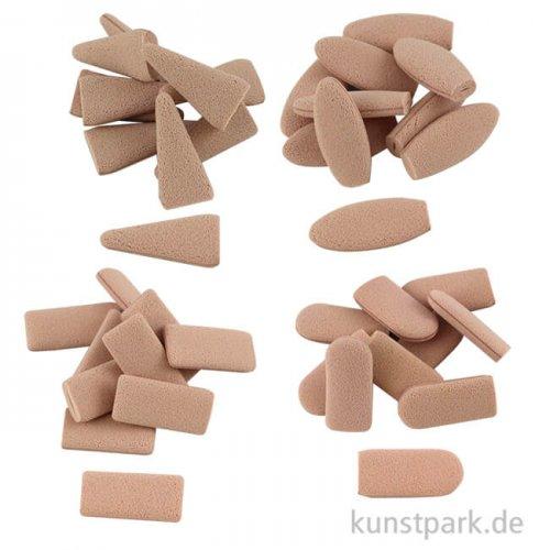 Sofft - Steckschwämme Set sortiert, 40 Stück