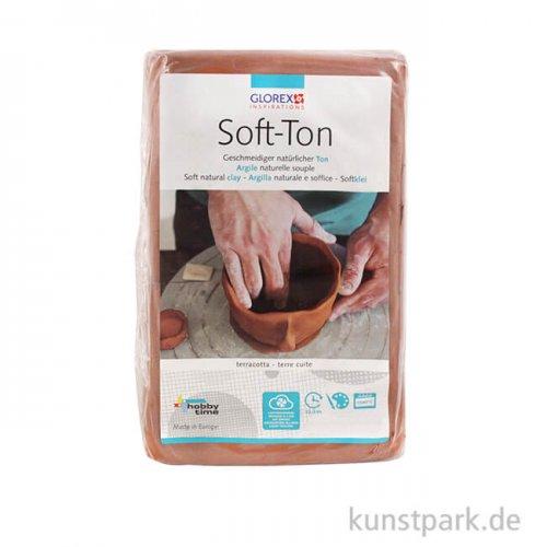 Soft-Ton terracotta, lufthärtend 500 g