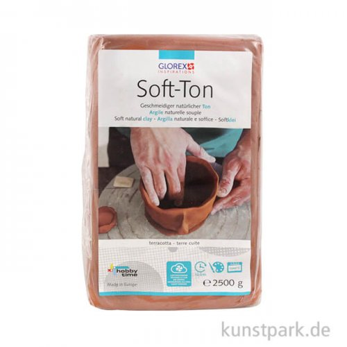 Soft-Ton terracotta, lufthärtend