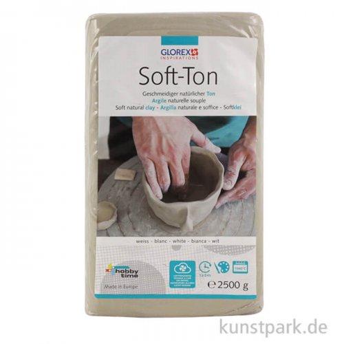 Soft-Ton weiß, lufthärtend 2500 g
