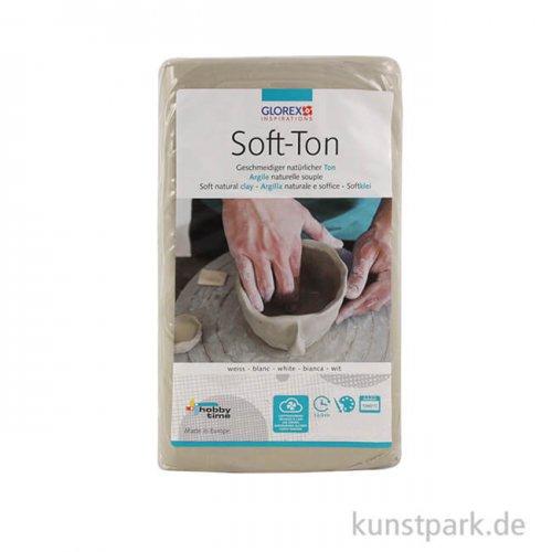 Soft-Ton weiß, lufthärtend 500 g