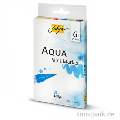 Solo Goya AQUA Paint Marker 6er Set