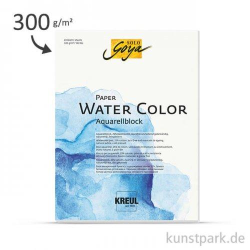 SOLO GOYA Paper Water Color, 20 Blatt, 300 g