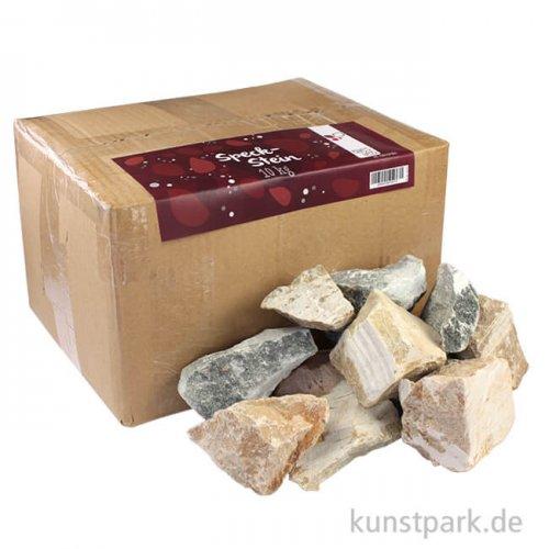 Speckstein Rohlinge in verschiedene Farben 10 kg
